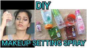 diy makeup setting spray for oily dry