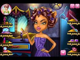 monster high makeup games