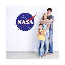 Amazon Com Large Nasa Logo Wall Decal 23 Tall X 28 Wide Handmade