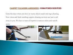 ppt carpet cleaning aberdeen top