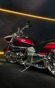 honda valkyrie red motorcycle