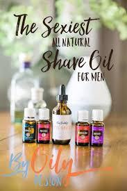 natural shave oil
