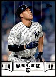 2018 Topps Aaron Judge Highlights Aaron ...