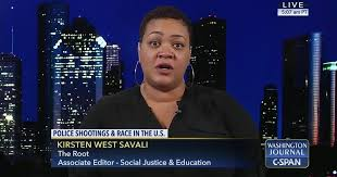 Kirsten West Savali on Race and Police Shootings | C-SPAN.org