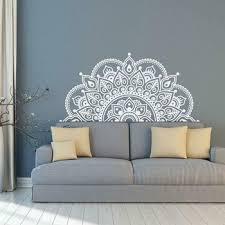 223 110cm Lage Size Gold Silver Wall Decals Mandala Half Mandala Vinyl Wall Stickers Yoga Ideas Theme Murals Home Decor Lc1475 Leather Bag
