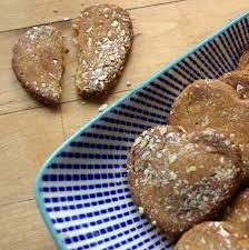 homemade pea flour treats are