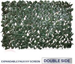 Windscreen4less Artificial Leaf Faux Ivy Expandable Stretchable Privacy Fence Screen Double Sided Leaves 2 Packs Duo Combo Deal Amazon Ca Patio Lawn Garden
