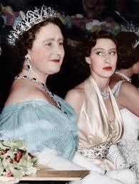 Queen Mother and Princess Margaret, September 1951   Princess margaret,  Royal princess, British royalty