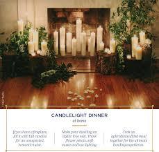 16 romantic candle light dinner ideas