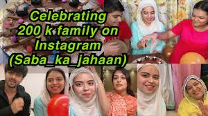 celebration time 200 k followers on