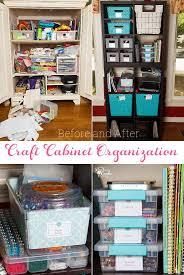 Great Craft Cabinet Organization Ideas For Small Spaces Craft Storage Cabinets Kids Room Storage Diy Small Space Diy
