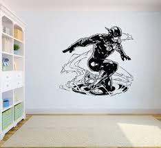 Dc Comics Wall Vinyl Decal Flash Wall Art Home Interior Decor Child Room Design Livingroom Vinyl Sticker Dc9 23x22 Amazon Com