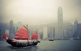 تحميل خلفيات هونغ كونغ السفن المراكب الشراعية الصين حاضرة