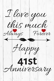 always forever happy 41st anniversary