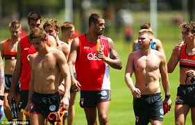 Buddy Franklin gets a lift from Dan Hannebery after crash   Daily Mail  Online