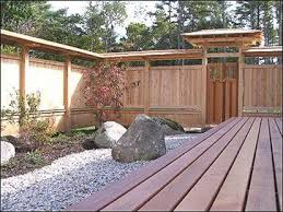Pin By Zachary Ogden On Fencing Patio Garden Design Japanese Fence Modern Landscaping