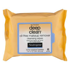 neutrogena deep clean oil free makeup