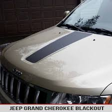Hood Blackout Vinyl Decal For Jeep Cherokee Wk2 11 17 Alphavinyl