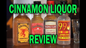 cinnamon liquor taste test you