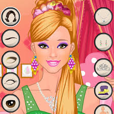 play barbie princess makeup games