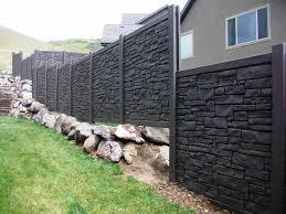 Simtek Fence Colors Bob Doyle Home Inspiration Ideas To Build Ecostone Fence