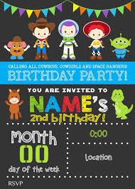 Spanish Invitaciones De Toy Story Invitaciones Toy Story