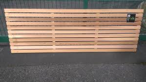 Western Red Cedar Slatted Screen Fence Panel Horizontal Fencing 1800mm Wide Pridehomeservices Slatted Fence Panels Fence Panels Modern Fence Panels