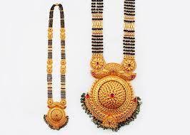 yellow gold gold mangalsutra pendant