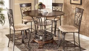 ashley furniture big rustic round inch