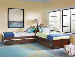 Hillsdale Kids And Teen Youth Pulse L Shaped Bed With Storage And Trundle 31051nst Carol House