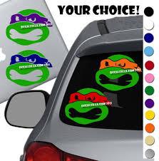 Teenage Mutant Ninja Turtles Vinyl Decal For Laptop Windows Wall Car Boat A