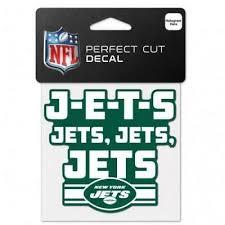 New York Jets Team Slogan 4 X4 Car Decal New Ny Nfl Sticker Emblem 194166045507 Ebay