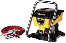 Wagner Power Products 515000 3 8 Hp 2 750 Psi Paint Crew Paint Sprayer Airless Paint Sprayer Amazon Com