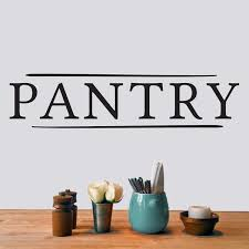 Pantry Wall Decal Wayfair