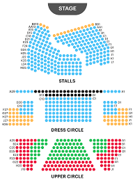 playhouse theatre seating plan now