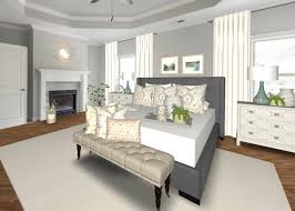place an area rug in a master bedroom