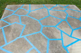 painted cement