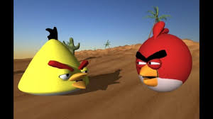 Angry Birds vs. Worms 3D animation - YouTube