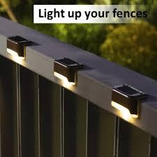 Solar Fence Light Upstair Led Durable Street Wall Lamp Waterproof Home Outdoor Lighting Garden Path Solar Light Solar Lamps Aliexpress
