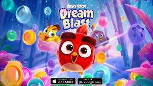 Download Angry Birds Dream Blast APK MOD Unlimited Coins v1.12.1 ̣