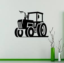 Ditooms Tractor Vinyl Decal Farm Wall Sticker Nursery Interior Wall Graphics Bedroom Children S Kids Room Wall Art Baby B01lwxwgba