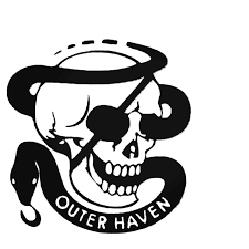 Metal Gear Solid Outer Haven Logo Vinyl Decal Sticker