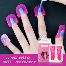 manzilin uv gel nail art protector
