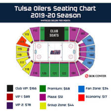 2019 20 seating chart monthlly tulsa