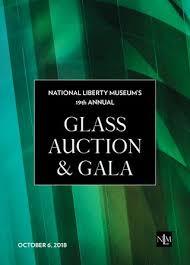 nlm contemporary glass art auction