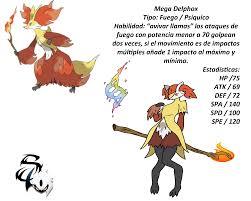 Mega Delphox by saileXIII on DeviantArt