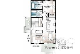 small house plans for narrow lots max