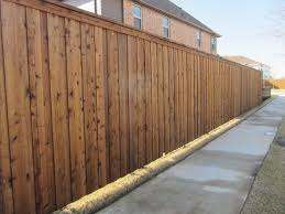 Fence Stain Gallery Popular Stain Colors In Plano Stain Dfence