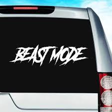 Beast Mode Vinyl Car Truck Window Decal Sticker