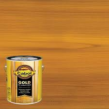 Cabot Gold Pre Tinted Sun Drenched Oak Transparent Exterior Stain And Sealer Gallon In The Exterior Stains Department At Lowes Com